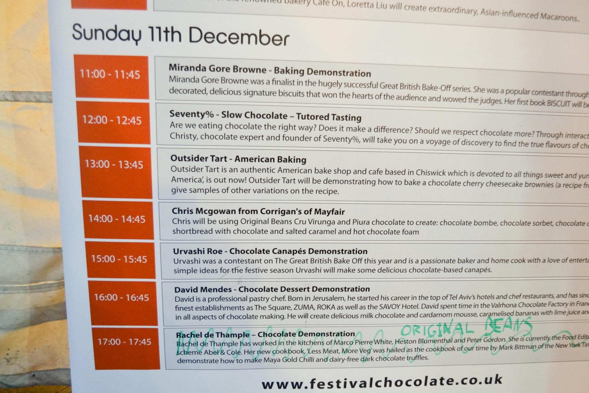 Chocolate Festival London Southbank Dec 11 2011