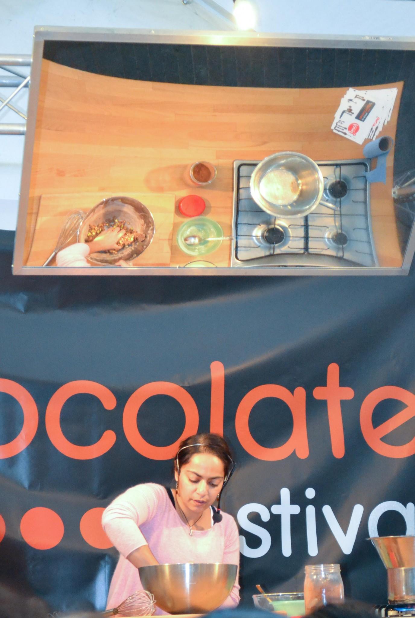 London Chocolate Festival Southbank  Dec 2011