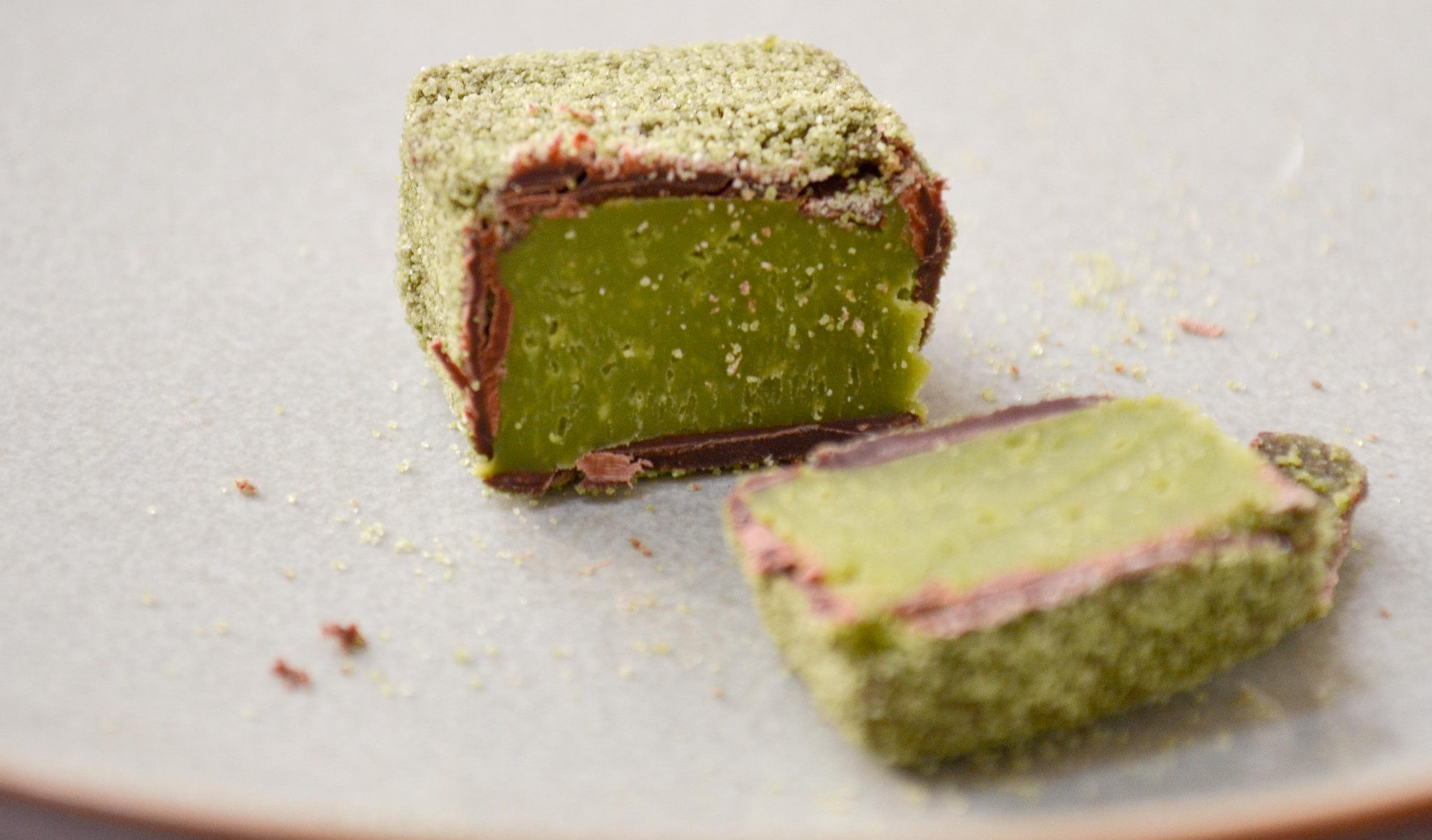 Matcha and Pistachio