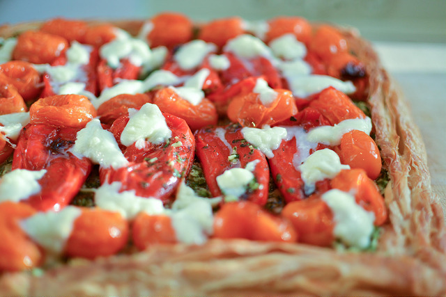 Copyright Urvashi Roe_tomato and red pepper tart