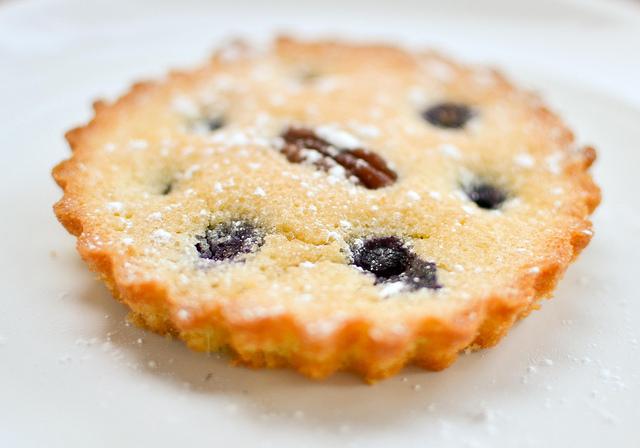 Copyright_Blueberry And pecan Frangipane Cake