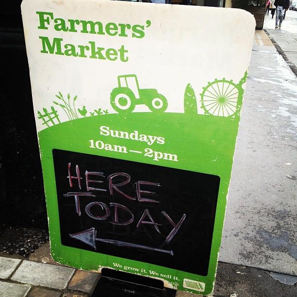 Stocking up on fresh produce #nomnnomnom2012