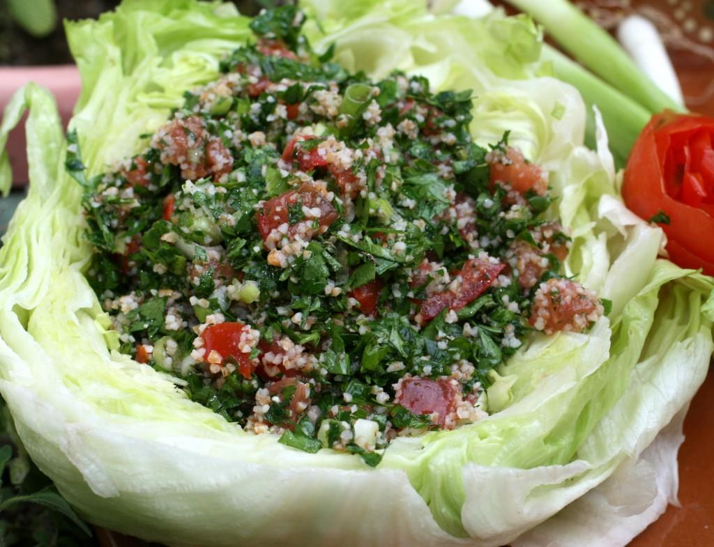 tabbouleh, parsley