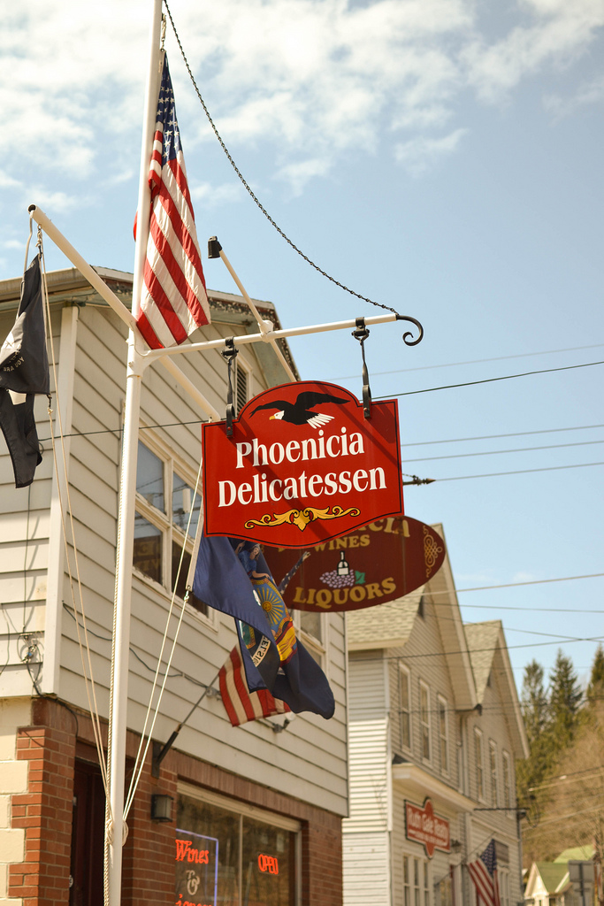 Phoenicia Deli and Wine, NY, Catskills