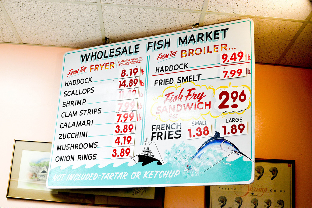 Fish Cover Menu