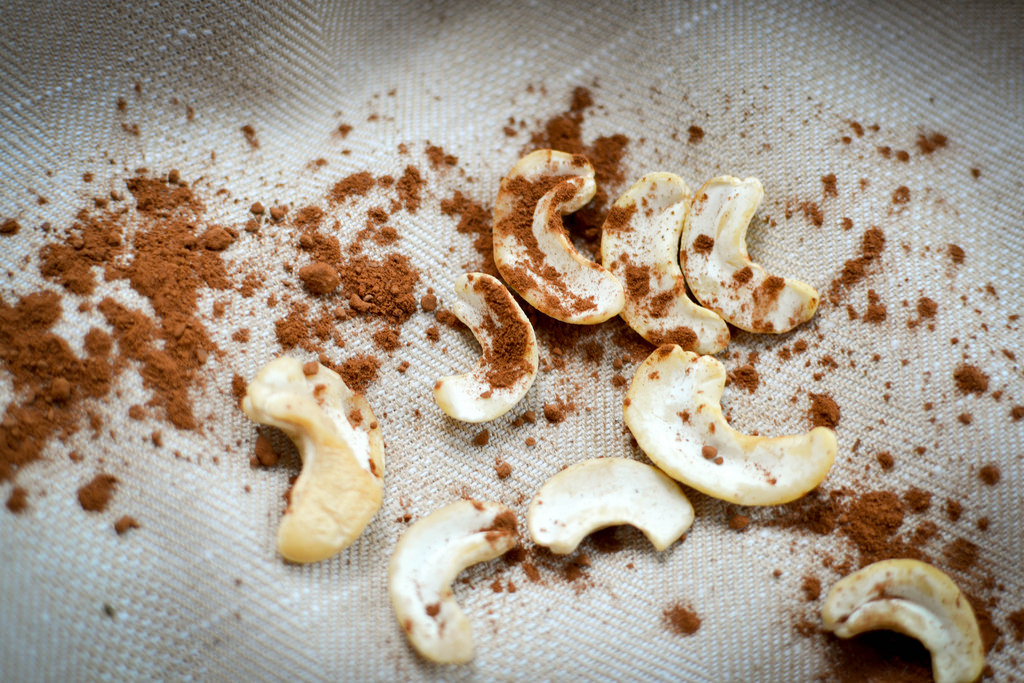 Cashews and Cocoa Powder