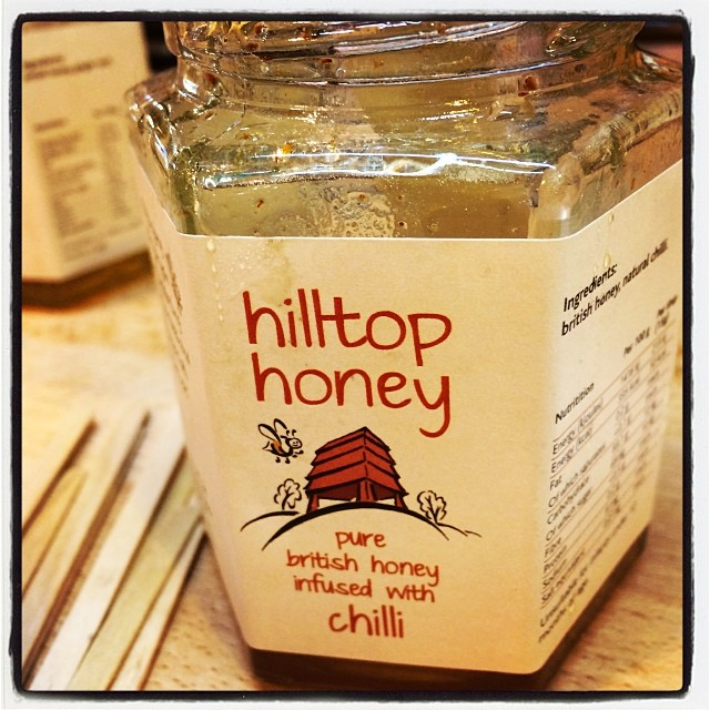 Gorgeous Chilli Honey from @hilltop_honey