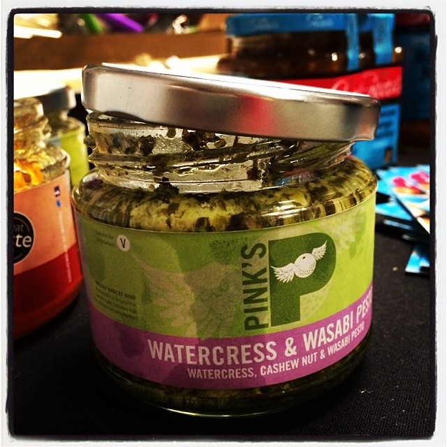Wow! This is stunning! Watercress and Wasabi Pesto @bbcgoodfoodshow