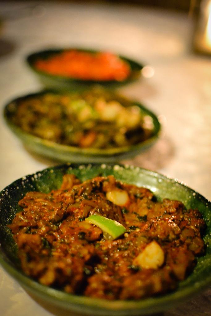 Cooked Salad selection at Dar Daif