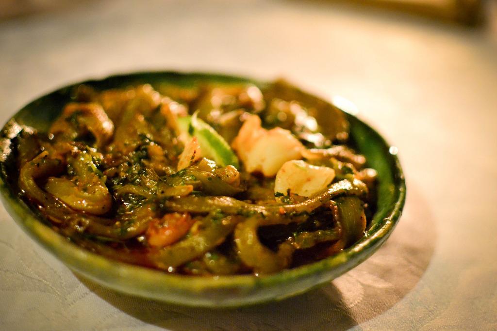 Green Beans in Pepper at Dar Daif