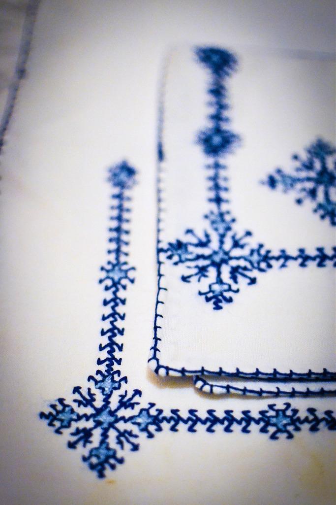 Wonderful embroidery at Dar Daif