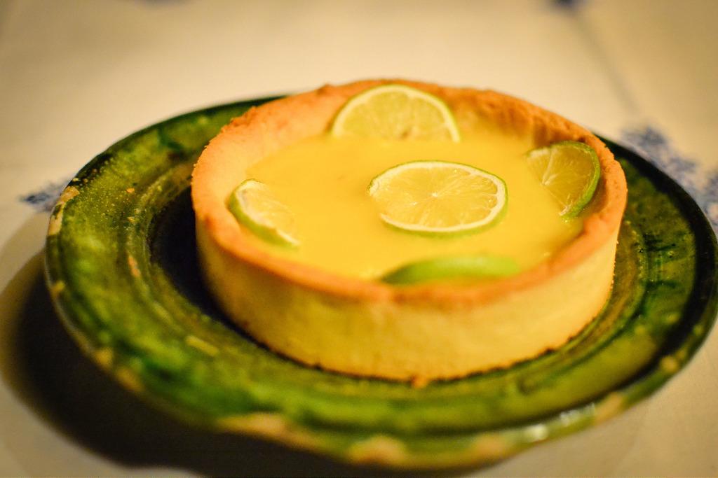 Tarte au Citron at Dar Daif