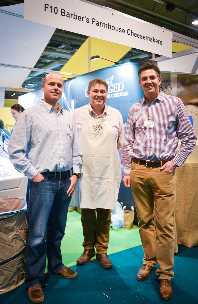 The Barber Boys at BBC Good Food Show