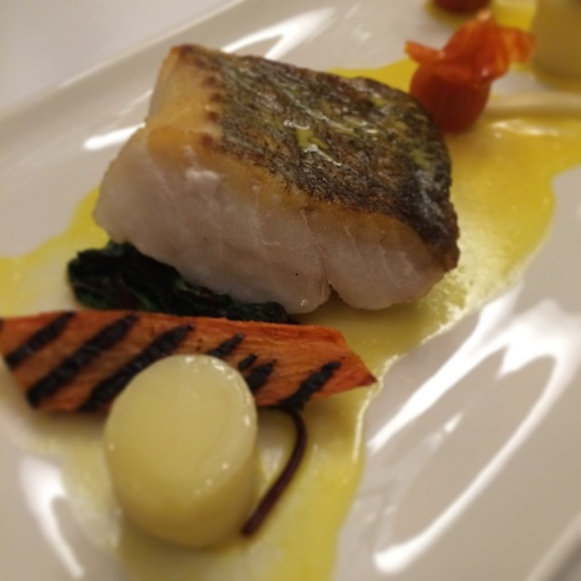 Getting full now - Cod Loin with Saffron @audleyvillages