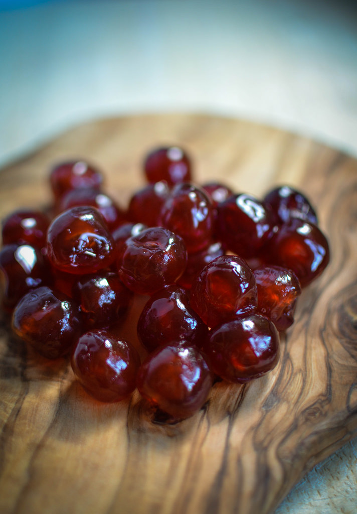 French Glace Cherries