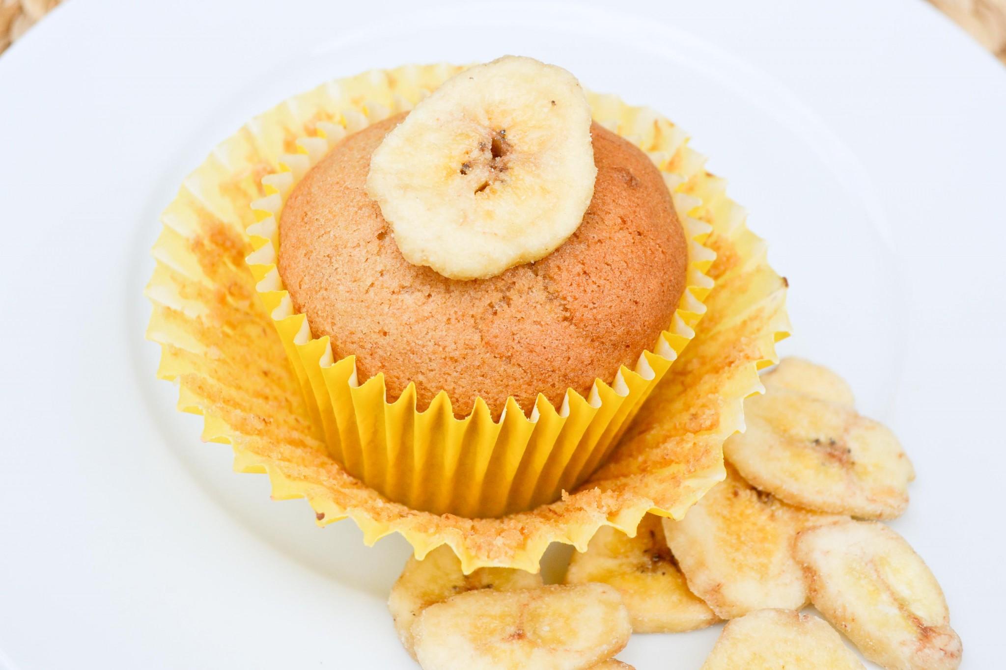 banana, cupcake