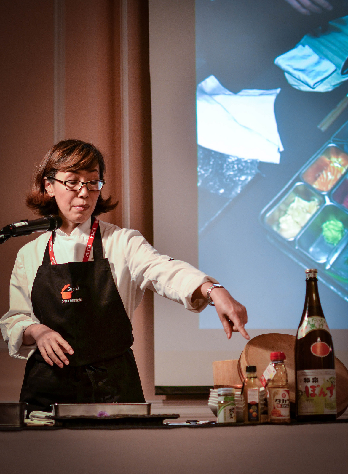 Akemi Yokoyama, Chef and Tutor, Sozai Cookery School