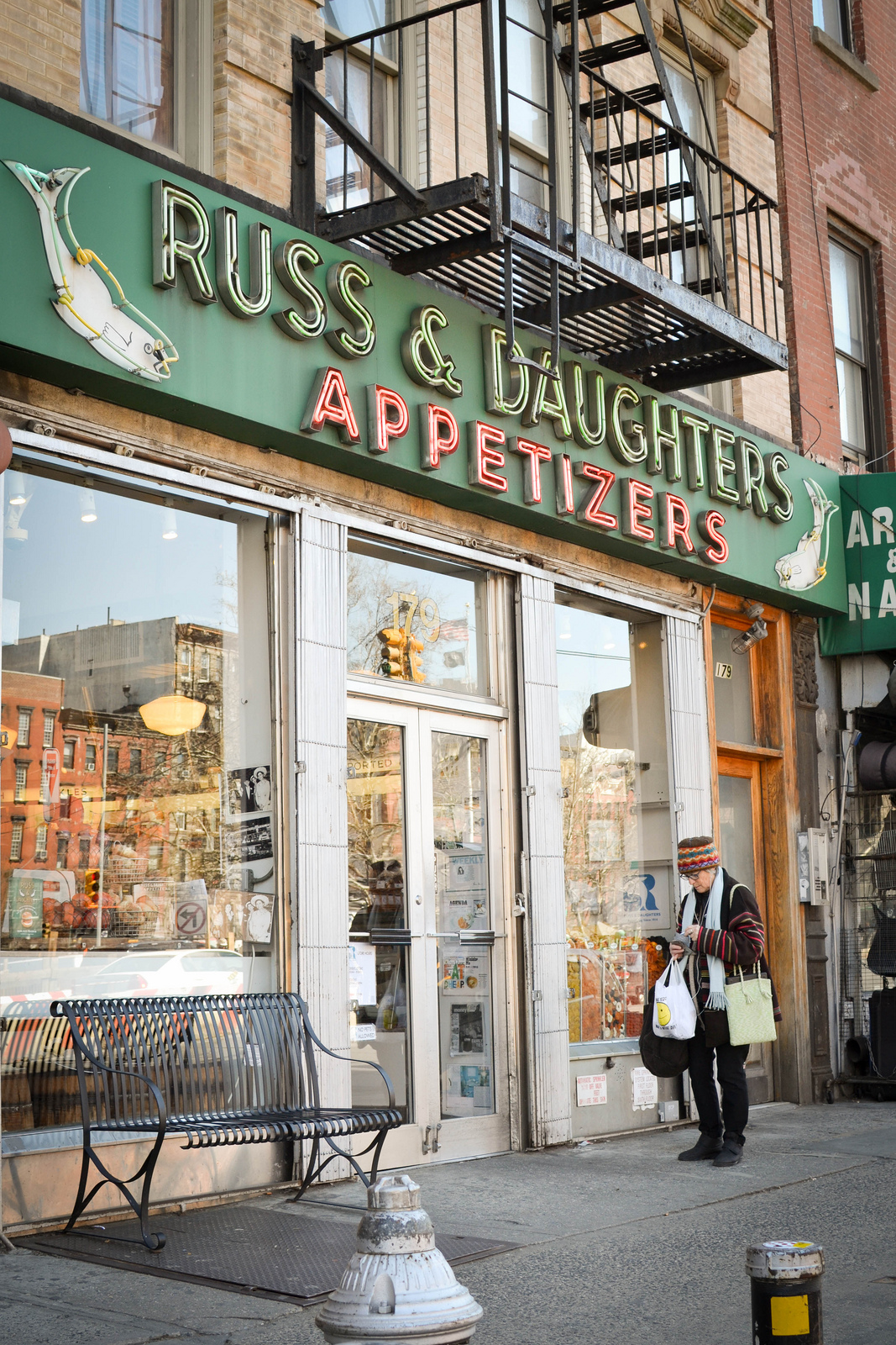 Russ & Daughters Deli