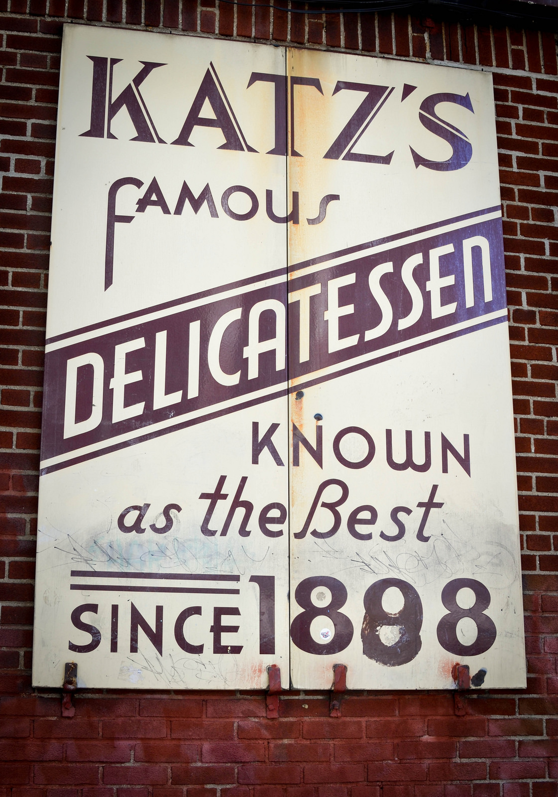 Katz's delicatessen, new york
