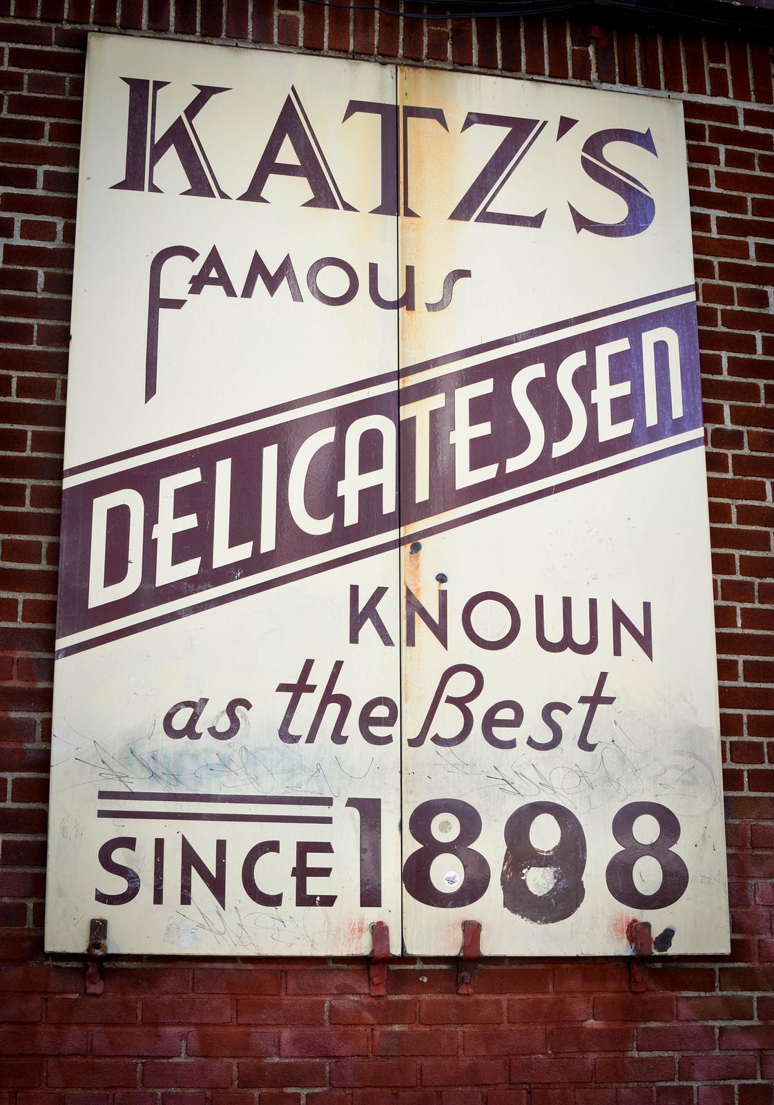 Katz's delicatessen, new york