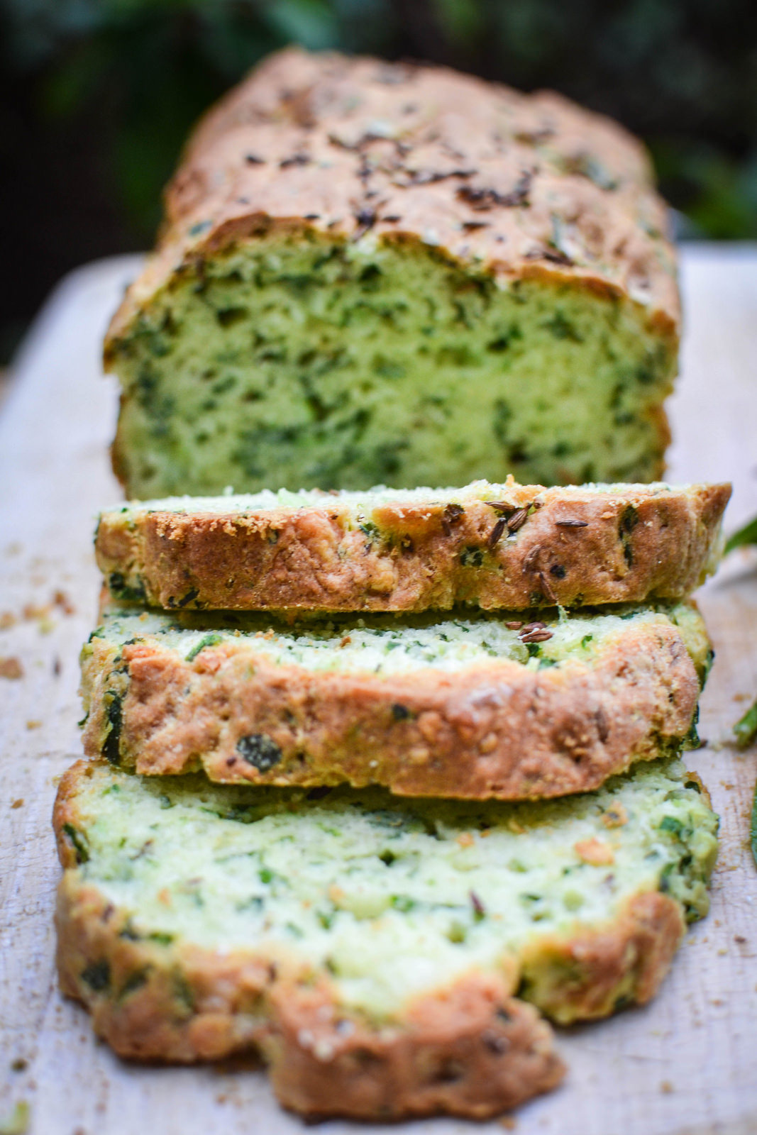 Nasturtium bread