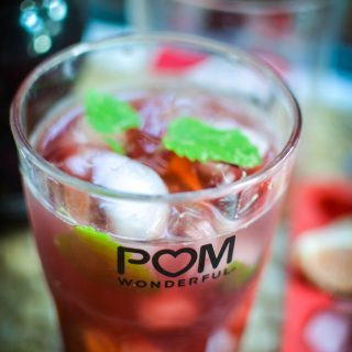 pomegranate mai tai