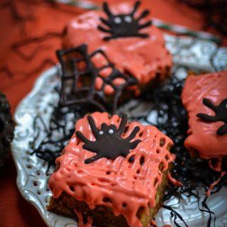 halloween carrot cake