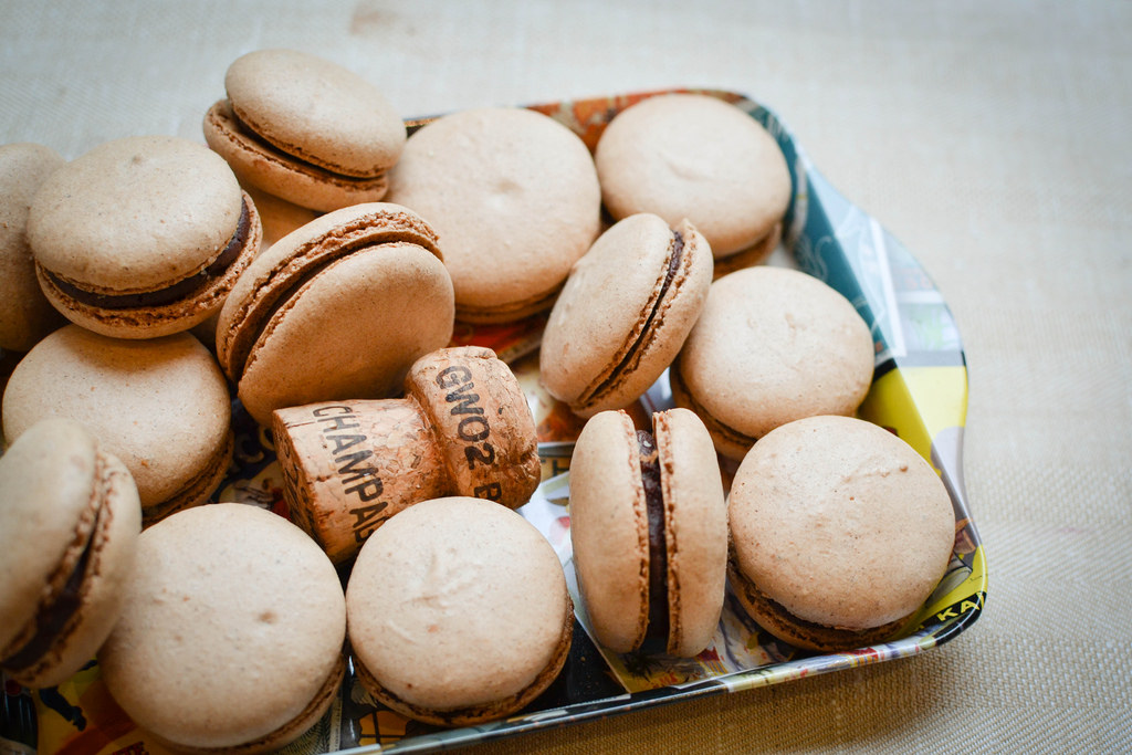 macarons with chocolate and champagne ganache.jpg
