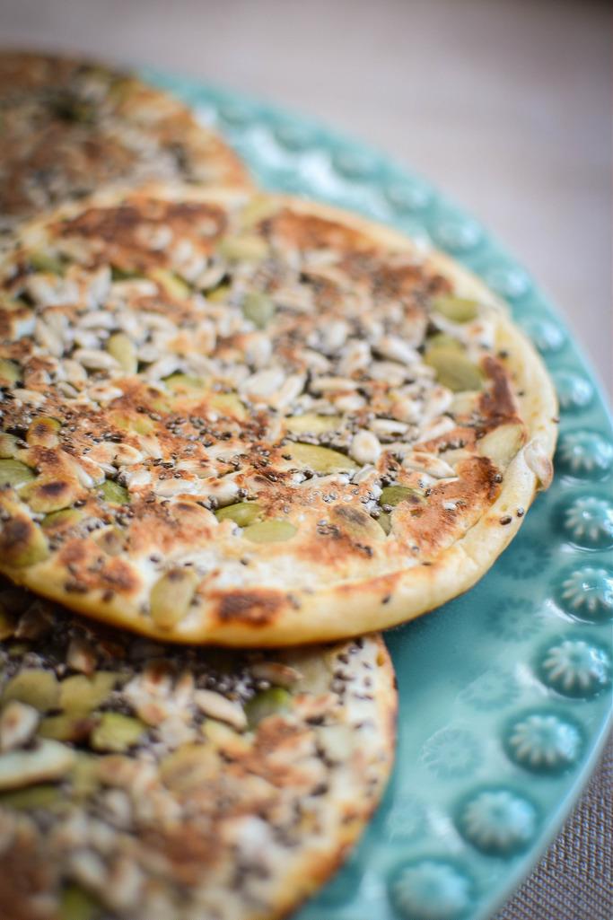 Multiseed Spelt pancakes