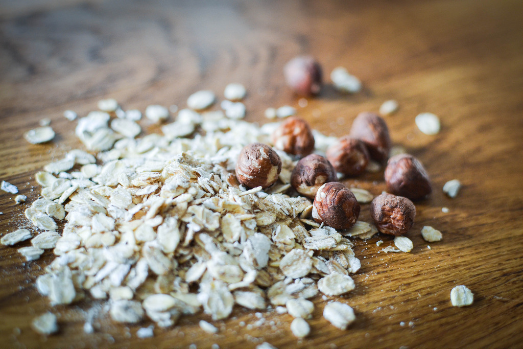 Oats and Hazlenuts