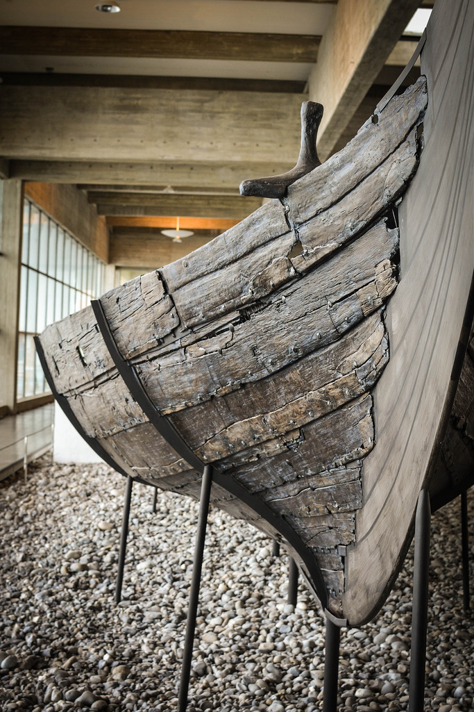 Denmark - Roskilde, The Viking Ship Museum