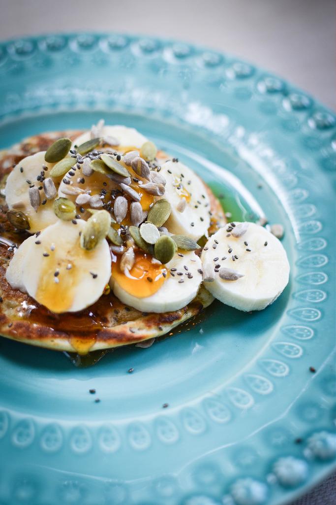 Multi Seed Spelt Pancakes