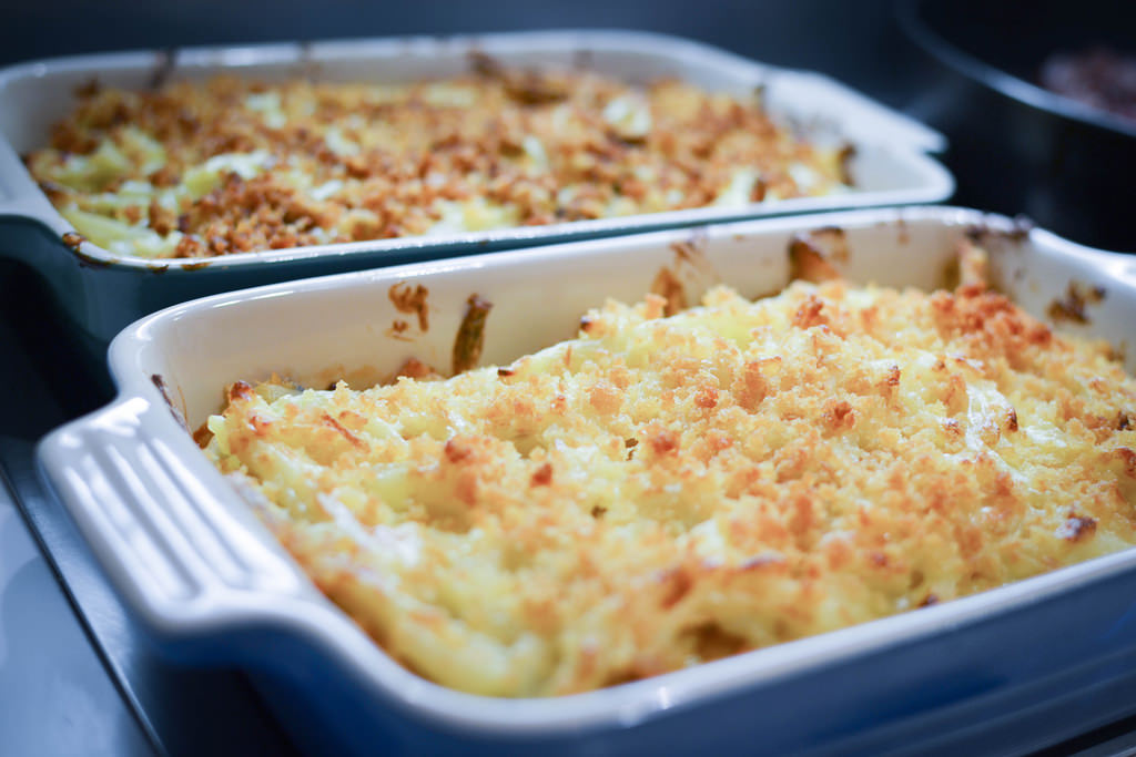 Gratin with Herring