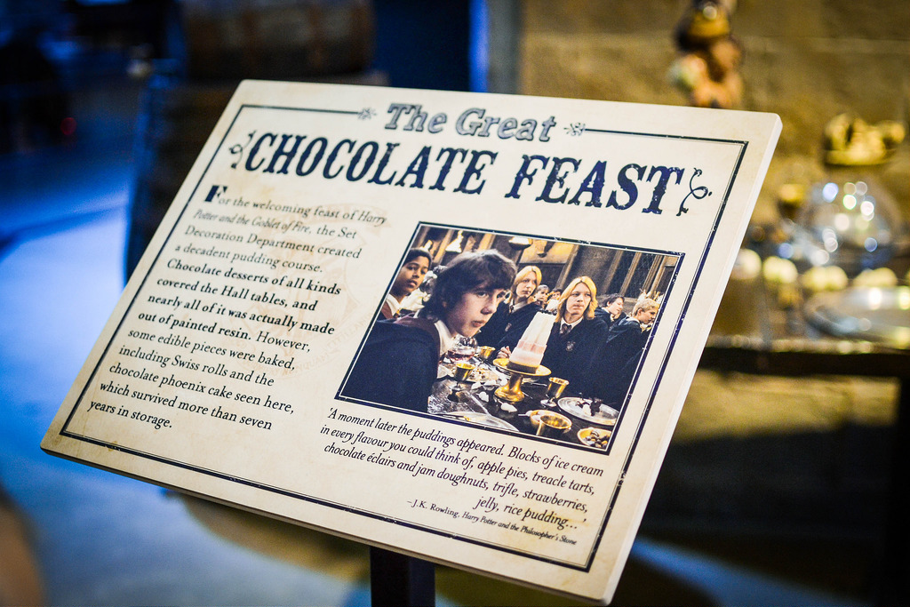 The Chocolate Feast at Harry Potter Studio Tour