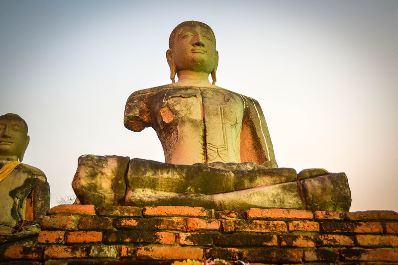 Travels In Ayutthaya, bhudda