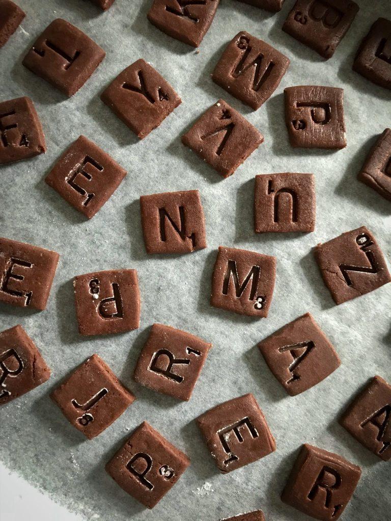 scrabble, cookie, biscuit, urvashi roe